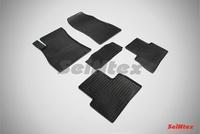 Резиновый коврик Seintex сетка для Nissan TEANA I 2006-2008