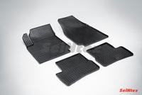 Резиновый коврик Seintex сетка для Nissan MICRA (K12) 2003-2010