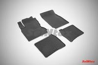 Резиновый коврик Seintex сетка для Nissan NOTE 2005-2014