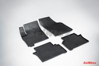 Резиновый коврик Seintex сетка для Opel MERIVA (T3000) 2002-2010