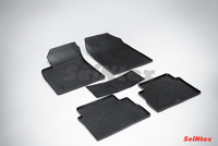 Резиновый коврик Seintex сетка для Opel VECTRA C 2002-2008