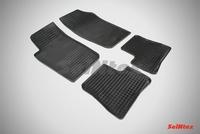 Резиновый коврик Seintex сетка для Peugeot 206 1998-2012