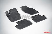 Резиновый коврик Seintex сетка для Peugeot 307 2001-2008