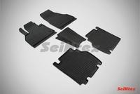 Резиновый коврик Seintex сетка для Renault KANGOO 2008-