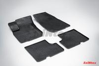 Резиновый коврик Seintex сетка для Renault LOGAN 2004-