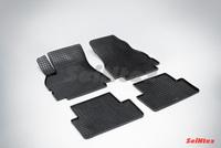 Резиновый коврик Seintex сетка для Renault MEGANE II 2002-2009