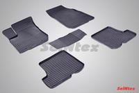 Резиновый коврик Seintex сетка для Renault SANDERO 2010-2014