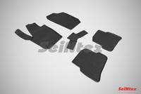 Резиновый коврик Seintex сетка для Seat Ibiza 2012-