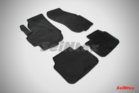 Резиновый коврик Seintex сетка для Suzuki LIANA 2001-2008