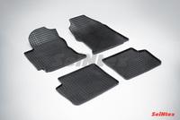 Резиновый коврик Seintex сетка для Toyota COROLLA (E12) 2001-2007