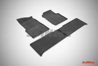 Резиновый коврик Seintex сетка для UAZ PATRIOT 2007-2015