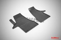 Резиновый коврик Seintex сетка для Volkswagen T6 2015-