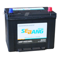 Аккумулятор SEBANG SMF 85 А/ч обратная R+ EN 700A 260x175x225
