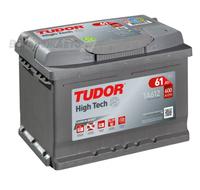 Аккумулятор TUDOR High-Tech 61 А/ч обратная R+ EN 600A 242x175x175