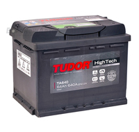 Аккумулятор TUDOR High-Tech 64 А/ч обратная R+ EN 640A 242x175x190