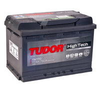 Аккумулятор TUDOR High-Tech 77 А/ч обратная R+ EN 760A 278x175x190
