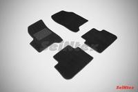 Ворсовый коврик Seintex для CITROEN С3 PICASSO 2009-