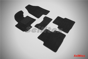Ворсовый коврик Seintex для KIA SPORTAGE III 2010-2015