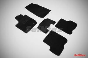 Ворсовый коврик Seintex для RENAULT LOGAN II 2014-