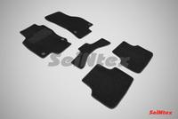 Ворсовый коврик Seintex для SKODA OCTAVIA A7 2013-
